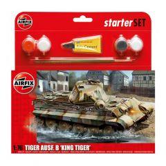 Airfix King Tiger Tank Starter Set