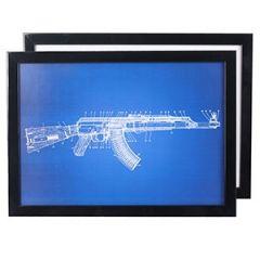 AK47 Rifle Print Thumbnail