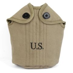 American Army Water Bottle Cover - 1940 Rear Seam Thumbnail
