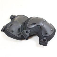 Angled Knee Pads - Black - Thumbnail