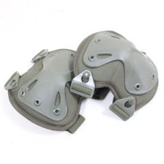 Angled Knee Pads - Olive - Thumbnail