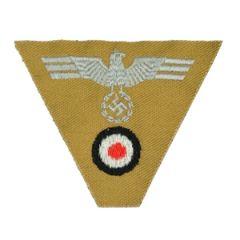 M43 Cap Eagle and Cockade - Afrika Korps Thumbnail