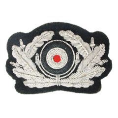 Army Panzer Visor Cap Wreath and Cockade - Thumbnail
