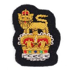 Army Peak Cap Badge - Queens Crown Thumbnail