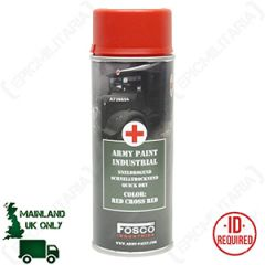 Army Spray Paint - Red Cross Red - Thumbnail