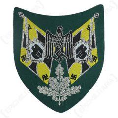 Army Standard Bearer Shield - Signals - Thumbnail