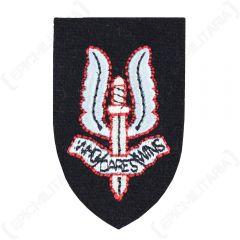 WW2 British SAS Cap Badge