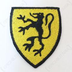 Belgium - Black Lion on Yellow - Type 2