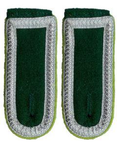 German Unterfeldwebel Bottle Green Shoulder Boards