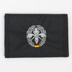 Black ABC Abwehr Wallet - Thumbnail