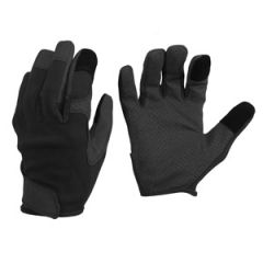 Black Combat Touch Gloves - Thumbnail