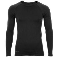 Black Long-Sleeve Sports T-Shirt