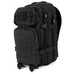 Black MOLLE Assault Pack - Regular size side