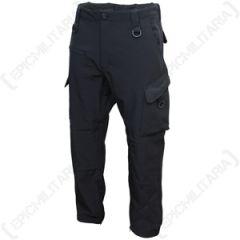 Black Softshell Explorer Trousers thumbnail