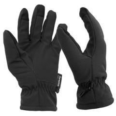 Black Softshell Gloves - Thumbnail