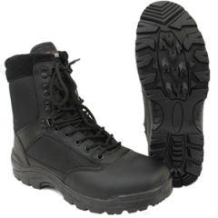 Black Tactical Army Boot with YKK Zipper thumbnail