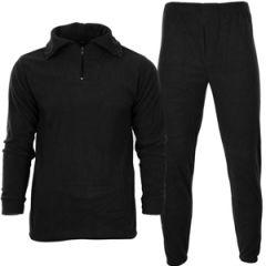 Black Thermal Underwear Set