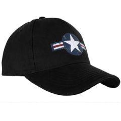 Black USAF Baseball Cap