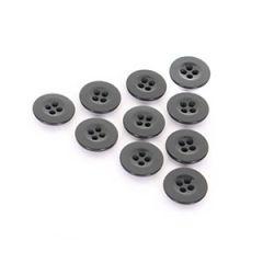 Black Vintage Buttons - Type 3 - 1.7 cm Thumbnail