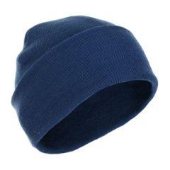Blue Winter Wool Cap Thumbnail