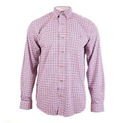 Percussion Beaugency Shirt - Blue and Rose Thumbnail