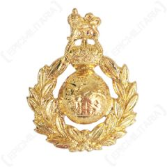 Royal Marines Metal Cap Badge - No Pin