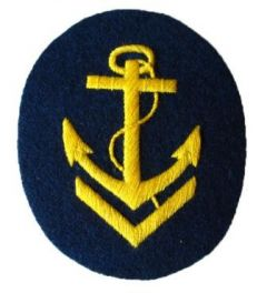 Kriegsmarine Boatswain Senior NCO Trade Badge