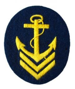 Kriegsmarine Ober Boatswain Senior NCO Trade Badge