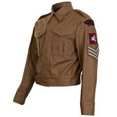 "British 37 Pattern Royal Engineers Airborne Regiment Sergeant Tunic - 42"""