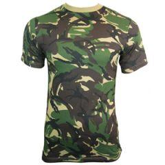 British DPM Camouflage T-Shirt Thumbnail