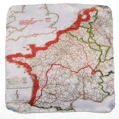British Escape Map Handkerchief