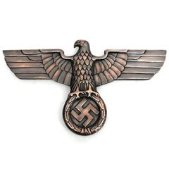 Bronze Railway Eagle Thumb