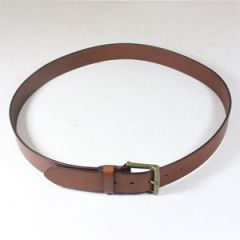Brown Leather Belt - Thumbnail