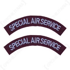 WW2 British Special Air Service Shoulder Titles