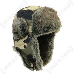 Camouflage Ushanka Thumbnail