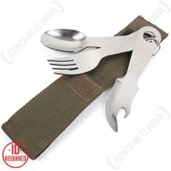Camping Cutlery Set With Pouch Thumbnail 2