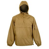 Combat Style Unlined Summer Anorak - Coyote