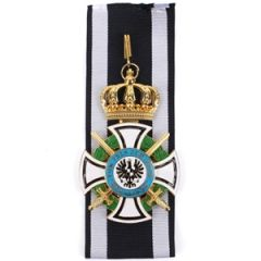 Commander of the Royal House Order of Hohenzollern with Swords Thumbnail