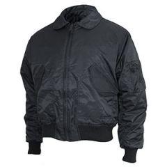 Black Teesar US CWU Flight Jacket Thumbnail