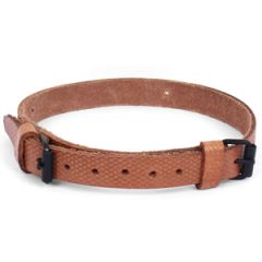 Czech Army Leather Utility Strap Double Buckle
