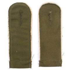 DAK Afrika Korps EM Shoulder Boards - White Piping - Imperfect