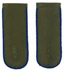 DAK Afrika Korps EM Shoulder Boards