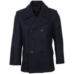 Dark Blue US Navy Pea Coat