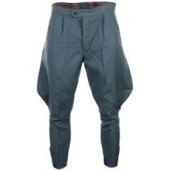 East German Customs Blue Grey Breeches / Jodhpurs