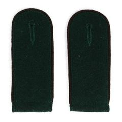 Recon EM Shoulder Boards Bottle Green (Copper Brown Piped) - Imperfect