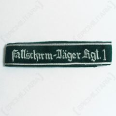 Fallschirm-Jager Rgt 1 - Officers Cuff Title - Misspelling Thumbnail