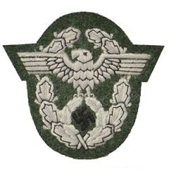 Police Arm Eagle - Grey thread Thumbnail
