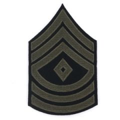 First Sergeant Stripes Olive Thumbnail