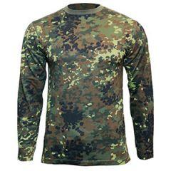 Flecktarn Camo Long Sleeved T-Shirt
