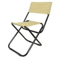 Folding Camping Chair - Coyote - Thumbnail